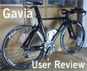 User Review of the Gavia - 115kg rider!